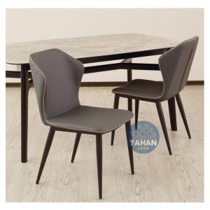 貓抓皮餐椅黑色_喬雅