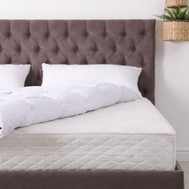 白色獨立筒床墊