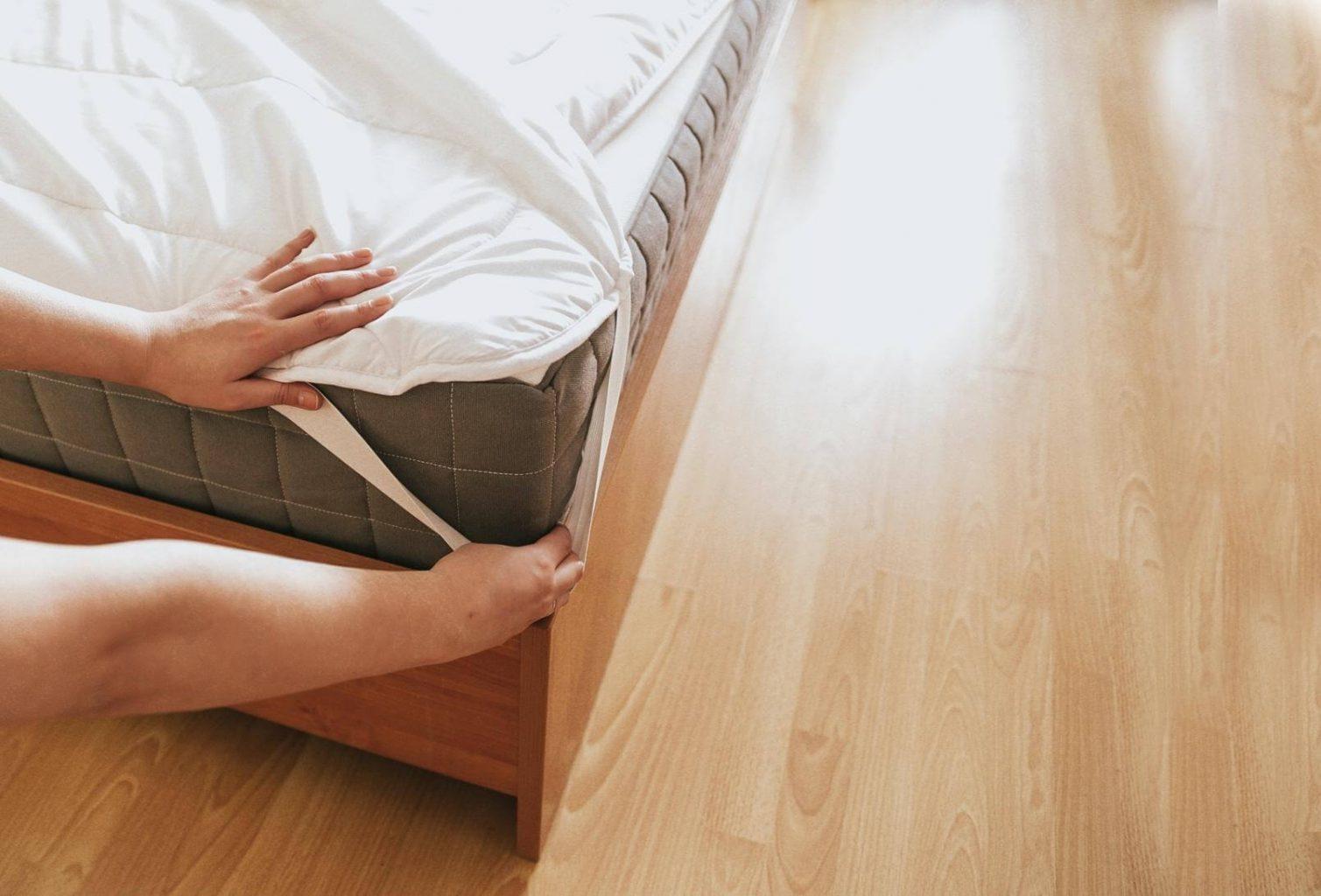 不建議乳膠床墊清洗,可用保潔墊